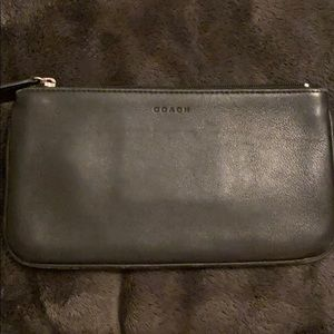 COACH Vintage Black Leather Case